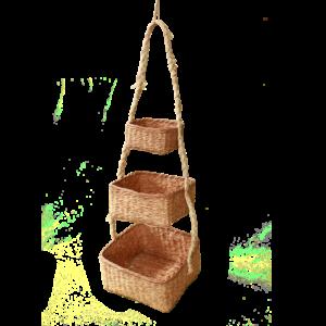 Panier suspendu carré